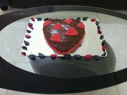 Nice cake wifee